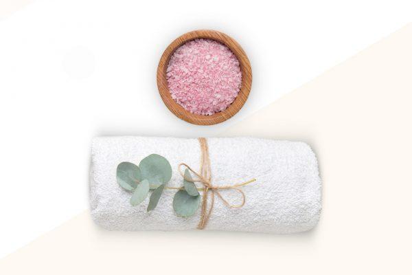 asciugamani e sale